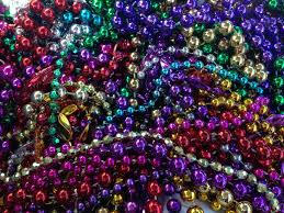 mardi gras bead bags literally tons of mardi gras are clogging drains
