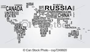 world map black and white with country names pdf illustration of world map with country name vector clipart