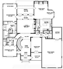 4 bedroom one story house plans descargas mundiales com