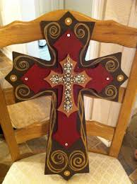 wood crosses for crafts painted wooden cross https www etsy shop thenovelowl