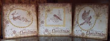 Whitch Craft Vintage Style Christmas Cards