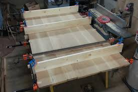 table top glue up arts and crafts dining table rickety furniture