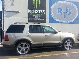 2004 ford explorer rims rts wheels ford explorer 22 inch take wheel tires rts wheels
