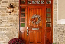Cute Front Door Hardware Picture Of Paint Color Small Room by 67 Cute And Inviting Fall Front Door Dcor Ideas Digsdigs