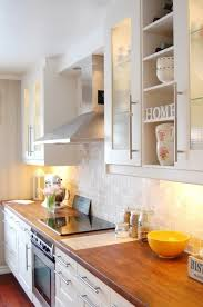 White Cabinets For Kitchen Myidealhome Butcher Blocks White Cabinets And Countertops