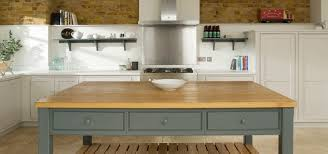 chadwick house grey painted contemporary country kitchen by