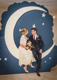 wedding backdrop ireland stunning moon photo booth for wedding edwardian paper moon theme