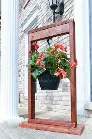 Hanging Plant Diy Hanging Plant Stand The Weathered Fox