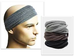 hairband men men headband mens hair accessory men headwear dreadlock wrap