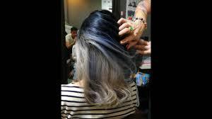 blue ash color grey ash dark blue ash blonde using ugly duckling color line