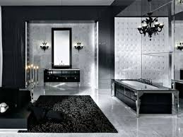 black bathroom fixtures black and white modern bathroom design