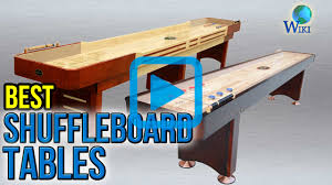 Shuffle Board Tables Top 8 Shuffleboard Tables Of 2017 Video Review