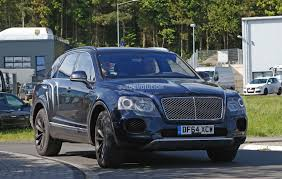 bentley suv 2017 2016 bentley bentayga suv spotted nearly camo free autoevolution
