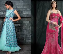 wedding dress indo sub trends in indo western fusion bridal wear india s wedding