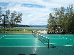 Backyard Sports Court by Vermont Custom Nets Backyard Sports Vermont Custom Nets