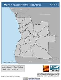 Angola Map Map Gallery Sedac