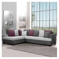 canapé d angle couleur prune générique canapé d angle gauche poros en tissu gris prune et
