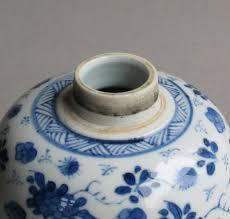 Good Vase Good Chinese Ovoid Vase Kangxi In Chinese Blue And White Porcelain