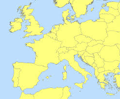 Central And South America Blank Map by Map Of West Europe Roundtripticket Me