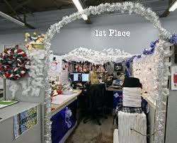 winter wonderland office decorating ideas cubicle best images on