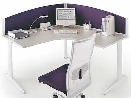 bureau violet ecran acoustique de séparation de bureau vague eco plus