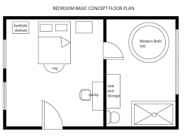 simple houseplans simple house plan drawing draw floor plans free with basement