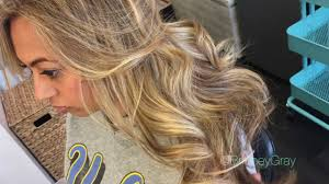 honey blonde highlights brittney gray youtube