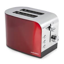 Stainless Toaster 2 Slice Morphy Richards Accents 2 Slice Toaster In Red Stainless Steel