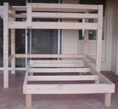 Free Diy Full Size Loft Bed Plans Awesome Woodworking Ideas How To - Loft bunk bed plans