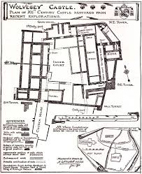 Castle Plans by Wolvesey Castle