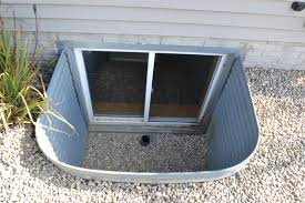 basement window well window well repairs egress egress window window