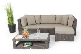 rattan sofa gã nstig stunning lounge gartenmobel mit esstisch pictures