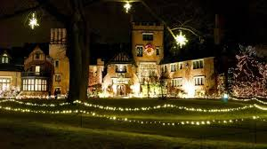 house of lights cleveland deck the hall at stan hywet has over 800 000 lights photos