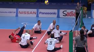 men u0027s siting volleyball usa vs egypt 2016 paralympic games