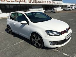 2010 volkswagen golf gti 3 dr manual full leather sunroof