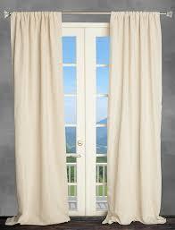 amazon com 100 natural linen drape panel oatmeal curtain