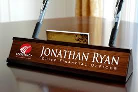 plaque bureau nom personnalisé plaque de nom bureau