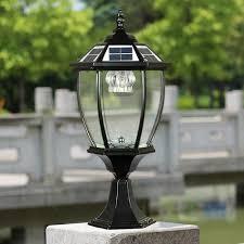 Outdoor Post Lights Led Solar Power Post Lantern Outdoor Post Lights Bright Led