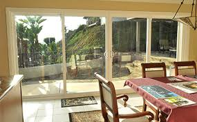 Patio Doors With Windows Vinyl Replacement 4 Panel Patio Doors In San Diego Bm Windows