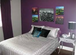 Purple Bedroom Accent Wall - violet accent wall interior design mesmerizing solid