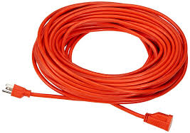 Workchoice Outdoor Grounded Outlet With by Amazonbasics 16 3 Vinyl Outdoor Extension Cord 100 Feet Orange