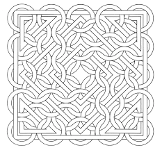 free coloring page coloring op art jean larcher 15 an op art