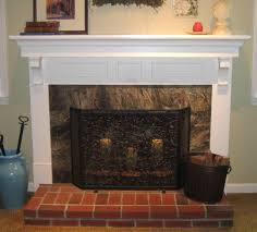 home design how to cover a fireplace surround and make mantel