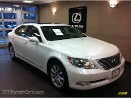2009 lexus es 350 white 2009 lexus ls 460 l awd in starfire white pearl 000210