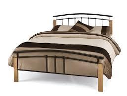 Wood And Iron Bedroom Furniture Wood And Metal Bedroom Furniture Trellischicago