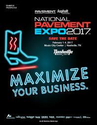 national pavement expo 2017 exhibitor prospectus