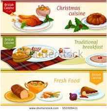 cuisine stock cuisine dishes dinner breakfast เวกเตอร สต อก
