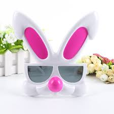 rabbit party supplies pink rabbit glasses party favors costume mask easter