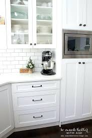 White Glass Cabinet White Shaker Kitchen U2013 Subscribed Me