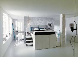 Raised Platform Bed Clever Bed Designs With Integrated Storage For Max Efficiency